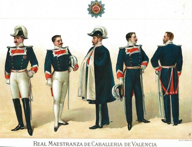 Uniforme de la RMCV a partir de 1900