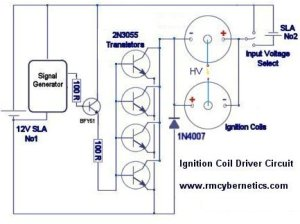 DIY Homemade Ignition Coil Driver  RMCyberics