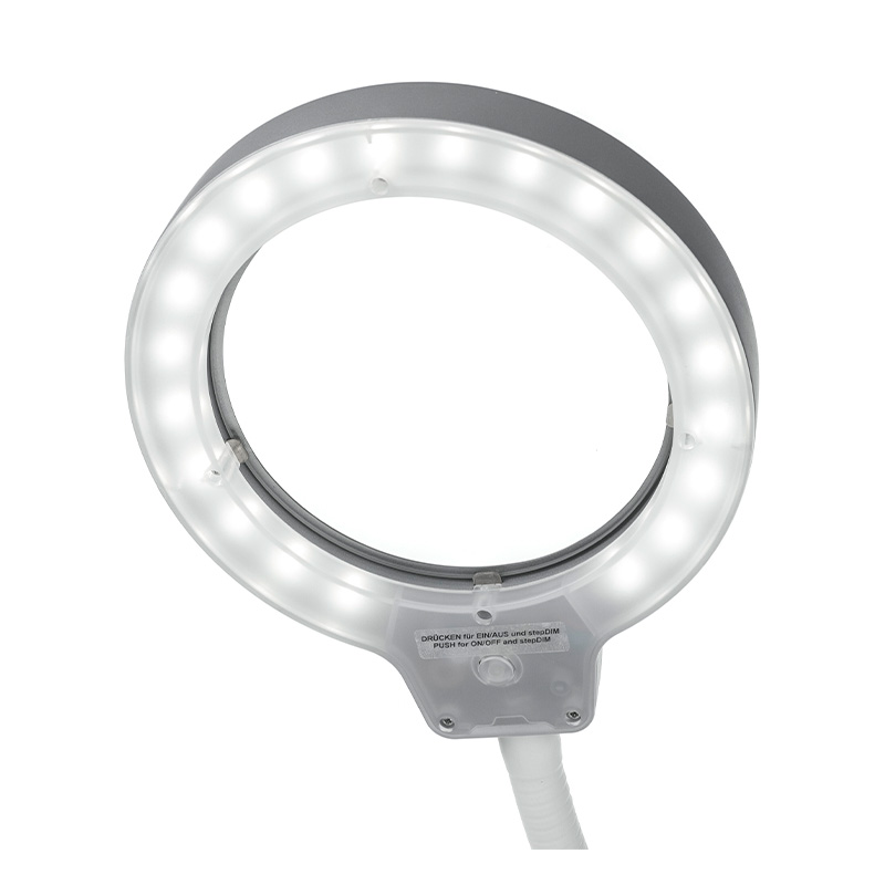 LED Magnifying Lamp RLL Flex light on
