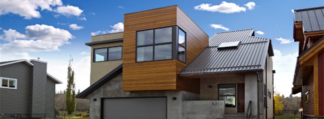 How to Use Exterior Cedar Siding: Design Ideas | RMFP on Modern House Siding  id=29534
