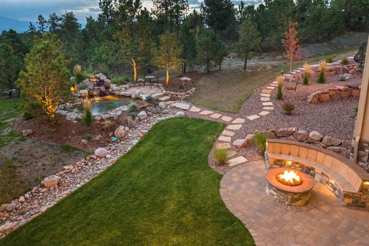 Step By Step Backyard Renovation - Rocky Mountain Forest ... on Mountain Backyard Ideas id=16046