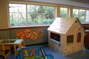 One of the playspaces in the House
