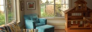 Our comfy living room