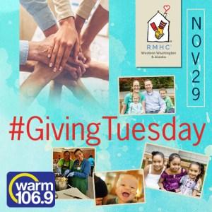 #Giving Tuesday collage Nov 29