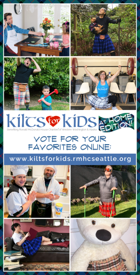 Kilts for Kids at Home Edition