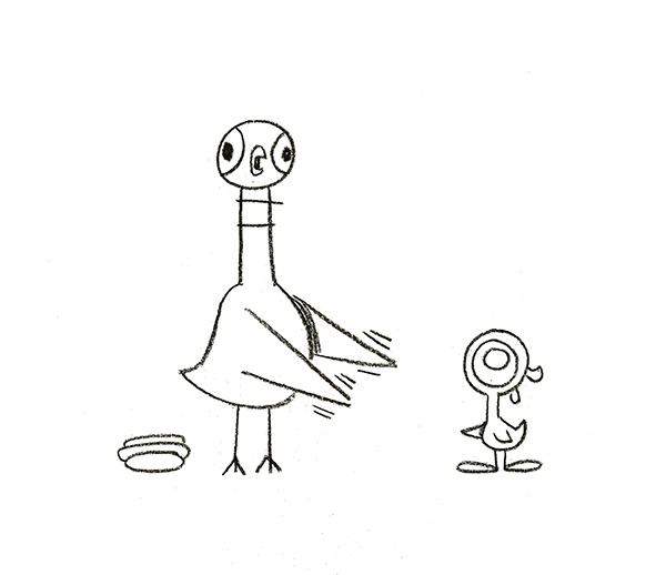 Mo Willems Pigeon Coloring Sheet