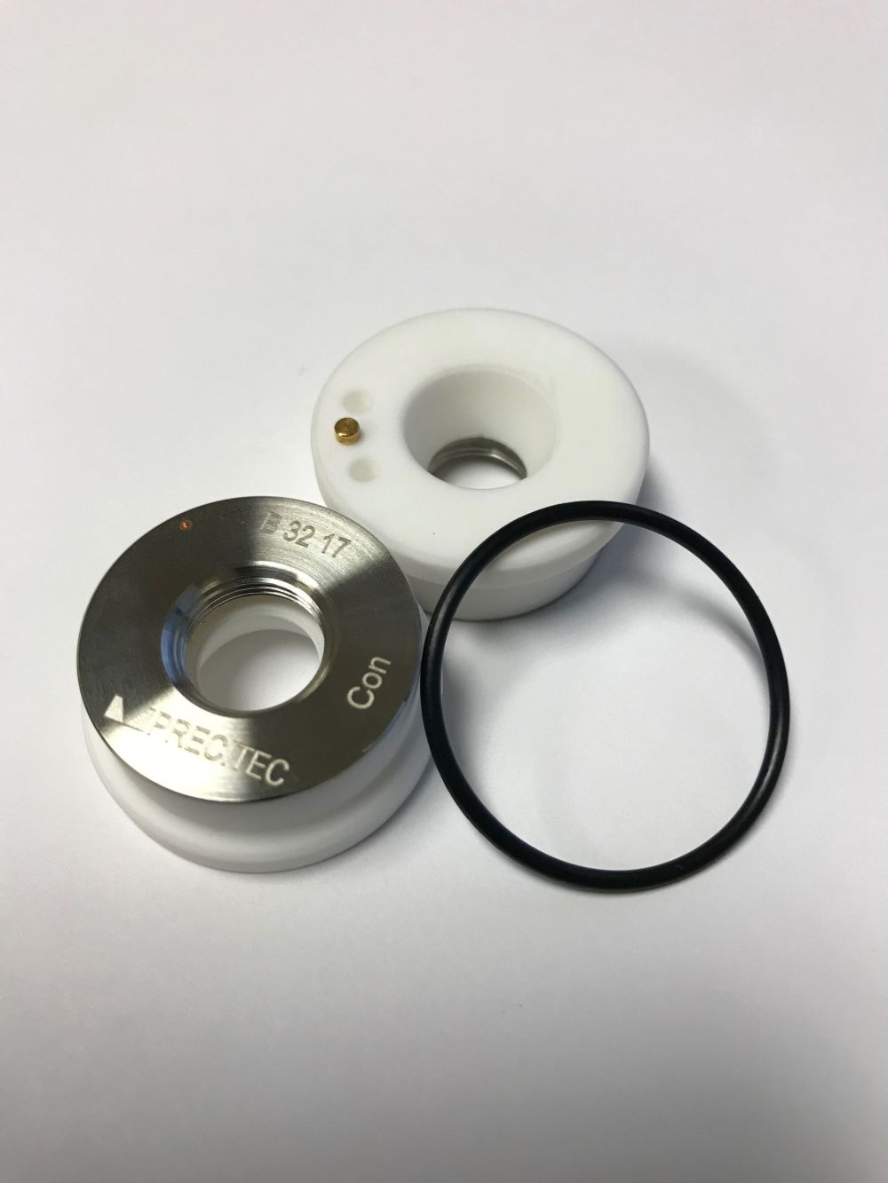 "Precitec Ceramic Nozzle Holder P0571-1051-00001 KT B2"" CON"