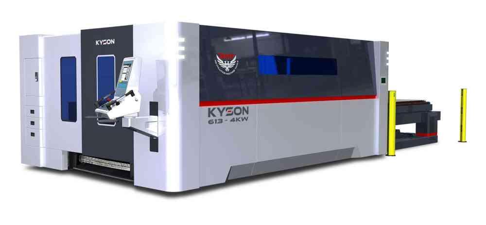 KYSON 613 - 4kW Fiber Laser