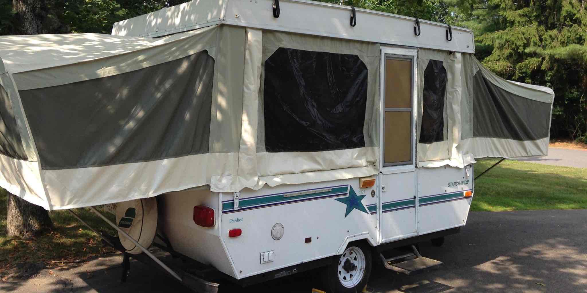 1992 Starcraft Pop Camper Canvas Replacement