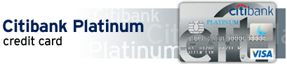 Citibank Master Platinum Credit Card
