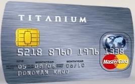 OCBC Titanium MasterCard
