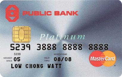 PB Platinum MasterCard