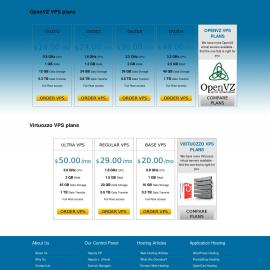 RMvalues Low Cost Virtual Private Servers (VPS)