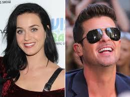 Katy Perry Robin thicke