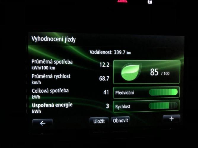 Resumé v aplikaci Driving Eco v R-Linku1