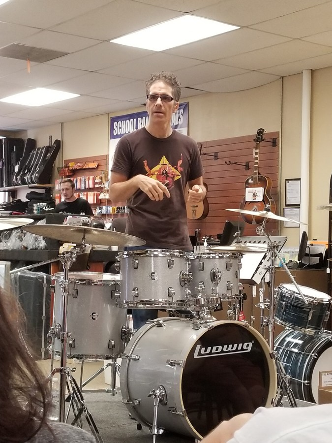 Creative Drumming Workshop with John Citrone01