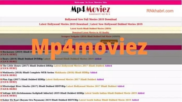 Mp4Moviez Bollywood Free HD Movies Download website
