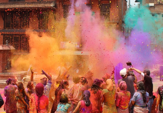 Holi is celebrated differently in each state