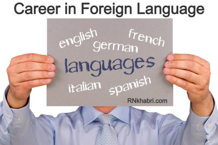 Career in Foreign Language - Foreign language Courses