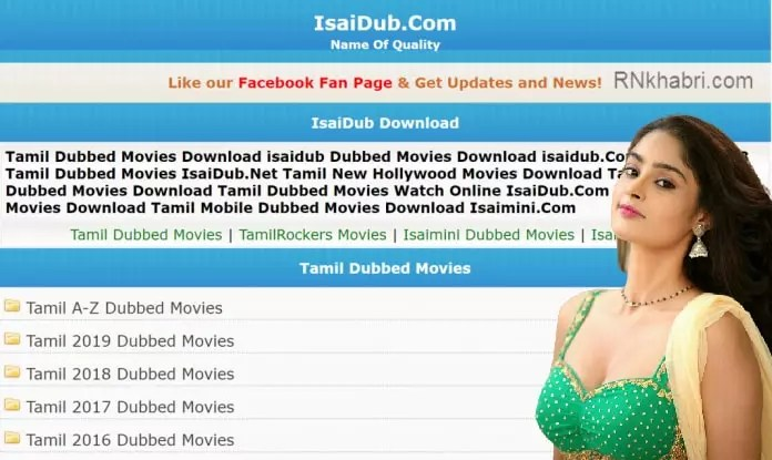 IsaiDub: Watch Free Latest HD Online Tamil Dubbed Movies & TV Shows