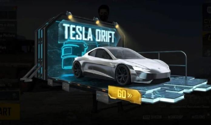 Battlegrounds Mobile India 1.5.0 update: Tesla car will now be available in Battlegrounds