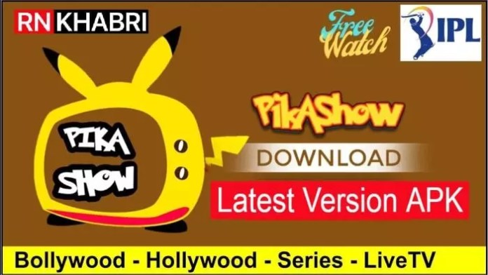 Pikashow Free Download Latest Version APK Android & PC