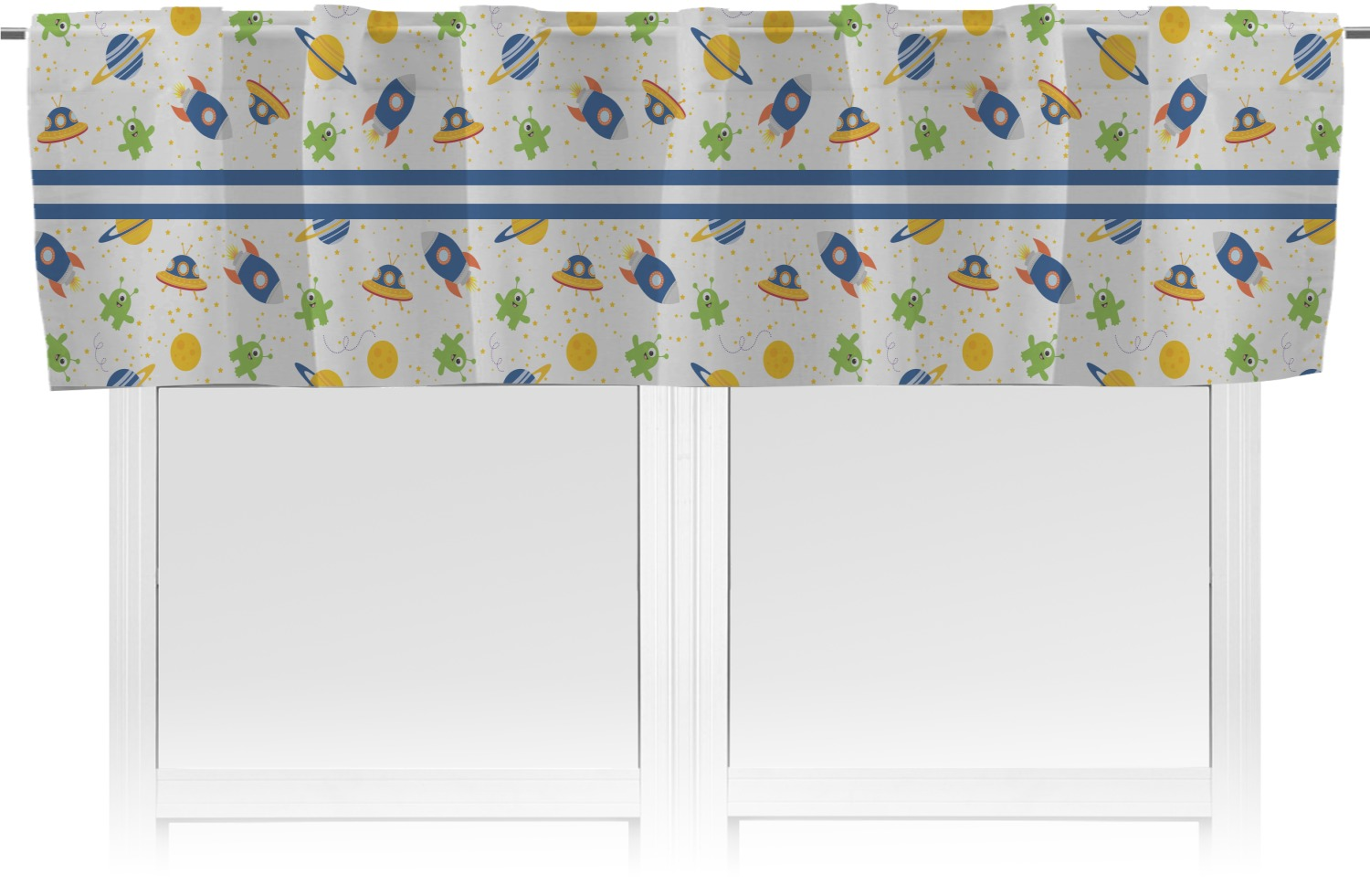 Boy S Space Themed Valance