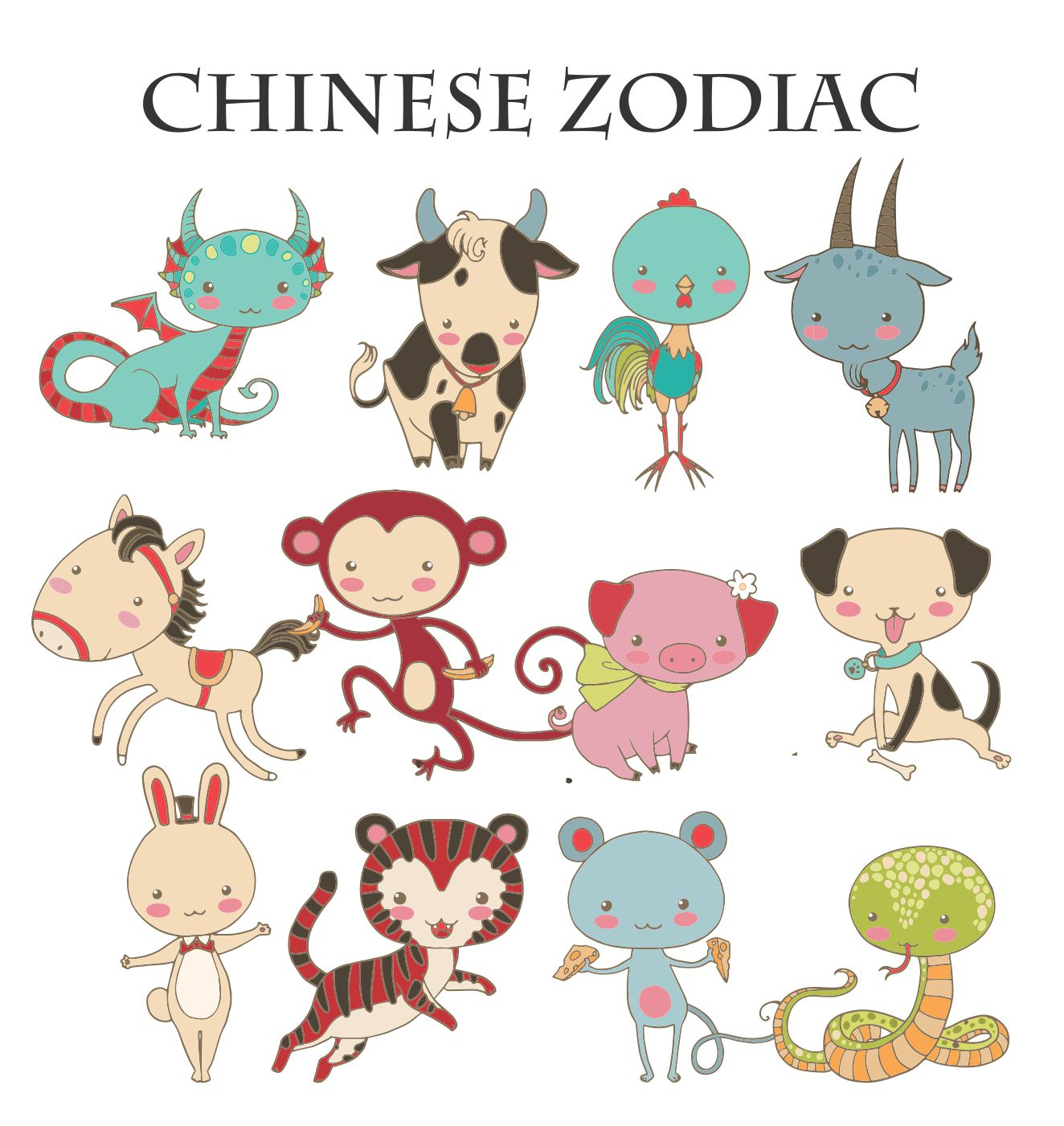 Chinese Zodiac Insulated Lunch Bag Personalized