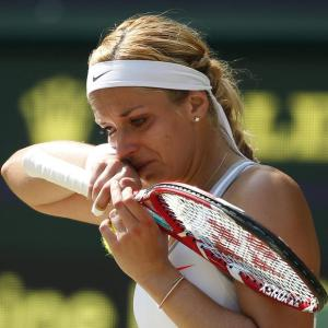 Sabine Lisicki crying like a baby while getting her ass whoooped