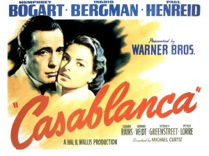 1942 Casablanca movie poster