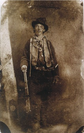Only known authenticated photo of Billy the Kid,ca. 1879