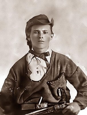 Jesse James, approximately 16 years old