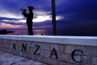 Anzac Bugler at Gallipoli