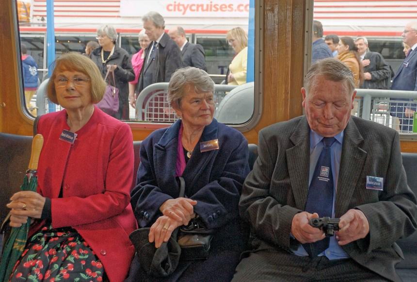 Pam Whitehouse, Jean Keeling and Jan Larcombe