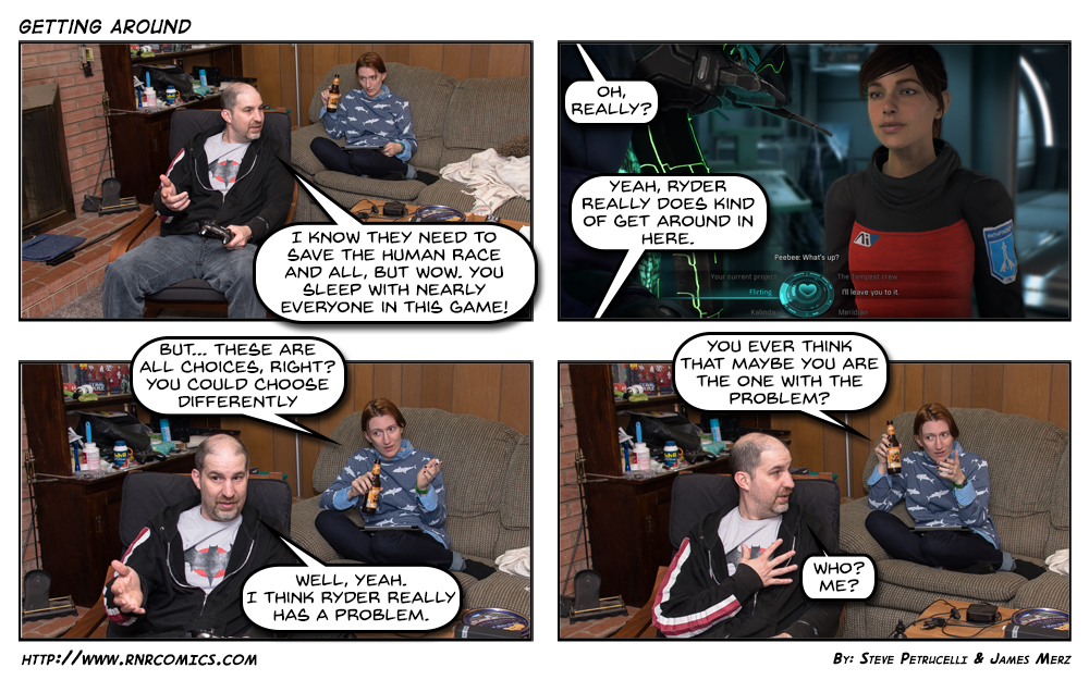 RnR Comics #377 – Getting Around