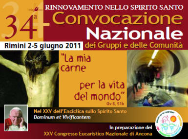 34a Convocazione Nazionale RnS