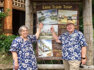 Saying Goodbye to the Laie Tram Tour at the Polynesian Cultural Center