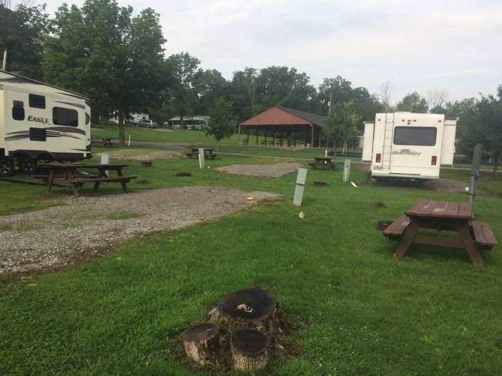 Berkshire Lake -- Neighboring Campsite