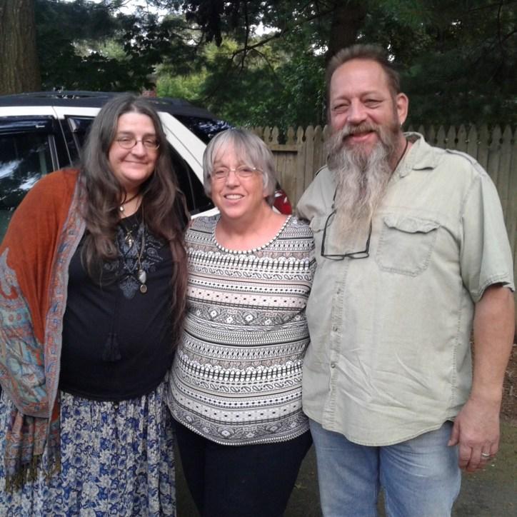 Mo, Nina, and Peter