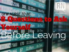 ofw nurses question before leaving