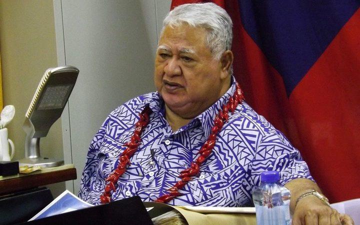 Samoa PM Tuilaepa Sailele Malielegaoi