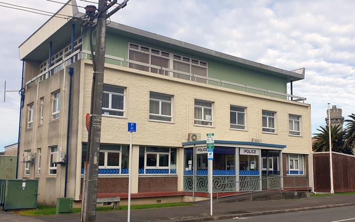 Hawera police station