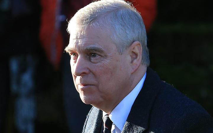 Britain's Prince Andrew, Duke of York, arrives to attend a church service at St Mary the Virgin Church in Hillington, Norfolk, England, on 19 January, 2020.