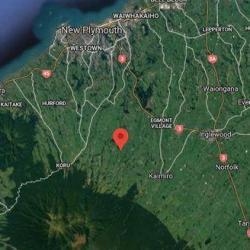 Arrest after man dies at rural property in Taranaki