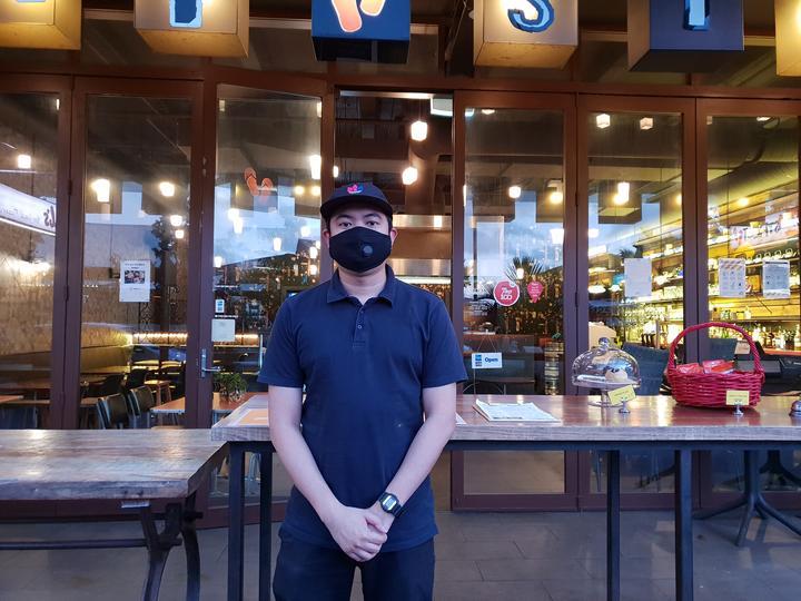 Thai Street restaurant duty manager Teetatchai Powisan