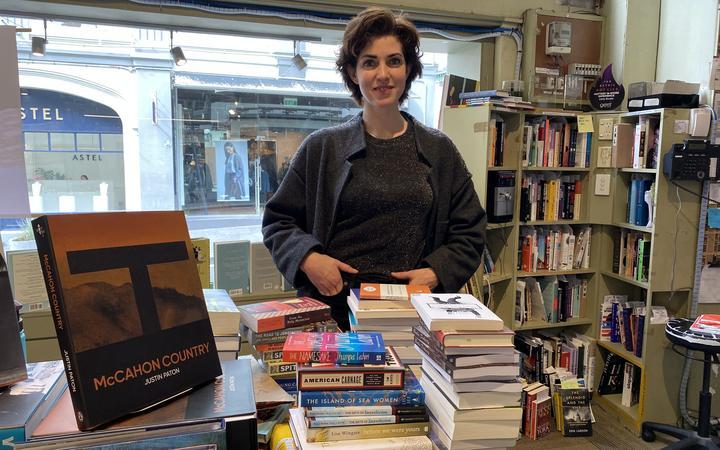 Unity Books manager Niki Ward.
