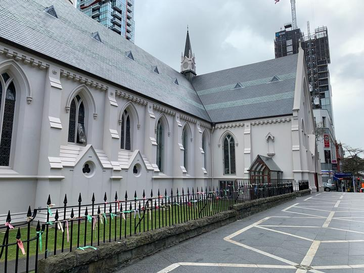 St Patrick's Cathedral in Wyndham St