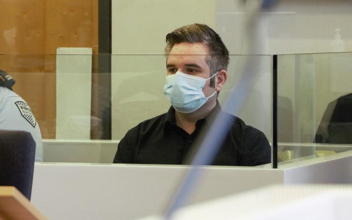 Nikola Marinovich in court