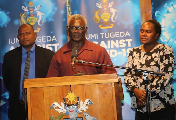 Solomon Islands PM, Manasseh Sogavare, has announced the country's first Covid case