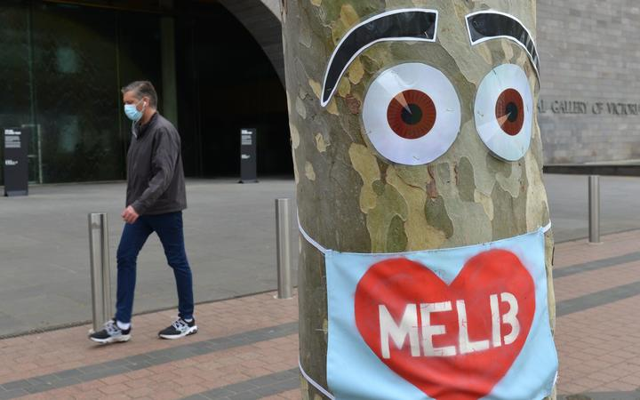 MELBOURNE, AUSTRALIA - SEPTEMBER 18: Streets remain empty due to the Stage 4 restrictions and curfew from 9 p.m. to 5 a.m. as part of new measures taken against the spread of the novel coronavirus (Covid-19) pandemic, on September 18, 2020 in Melbourne, Australia.